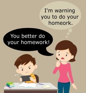 mãe dando conselho ao filho